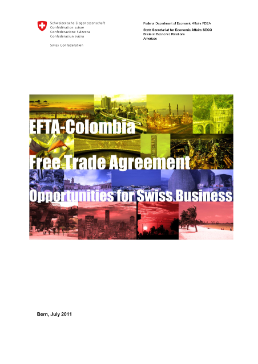 EFTA-Colombia Free Trade Agreement-1
