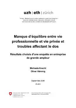Conciliation vie privee vie professionnelle pdf