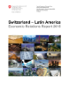 Rapport Suisse - Amérique latine, Economic Relations Report 2015-1